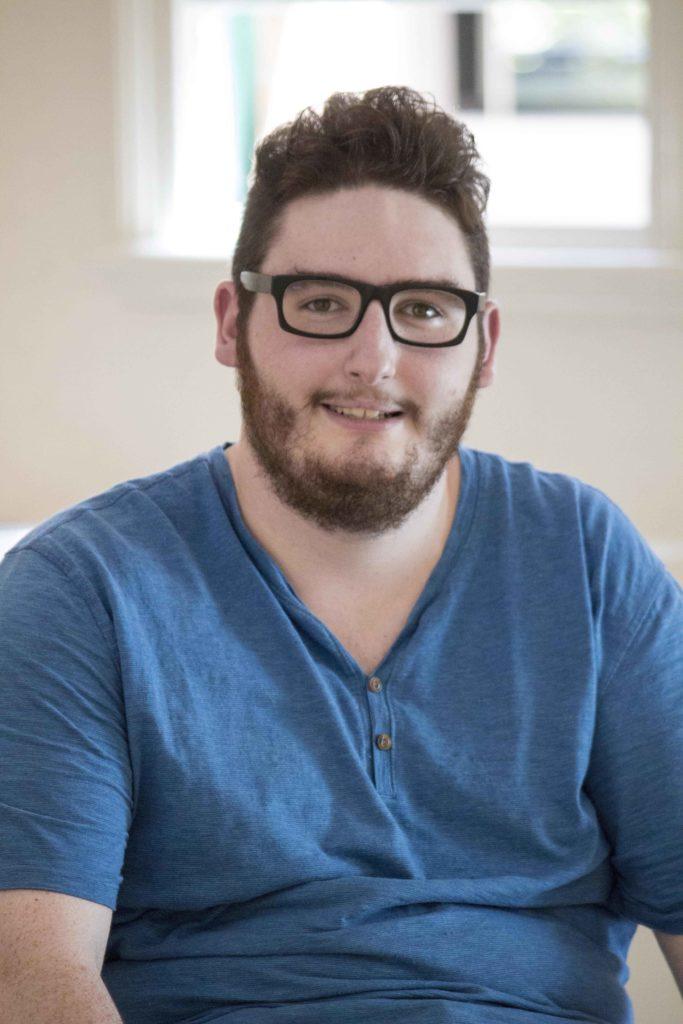 Matt Morris, Newcastle screen creative and filmmaker of My Dancing Eyes.